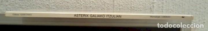 Cómics: ASTERIX GALIAKO ITZULIAN 1987 TAPA DURA En Euskera - Foto 2 - 186582362