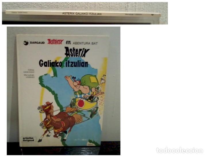 Cómics: ASTERIX GALIAKO ITZULIAN 1987 TAPA DURA En Euskera - Foto 3 - 186582362