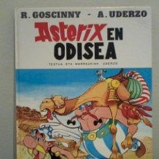 Cómics: ASTERIXEN ODISEA EUSKERA1989 EX+ COMO NUEVO. Lote 186587603