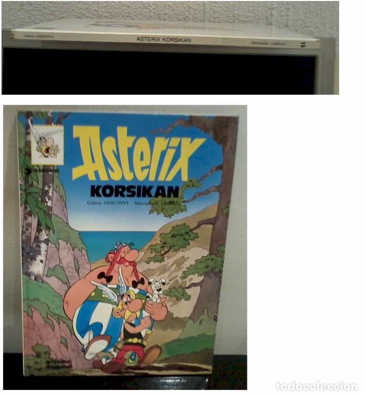 ASTERIX KORSIKAN EUSKERA 1989 M- COMO NUEVO (Tebeos y Comics - Grijalbo - Asterix)