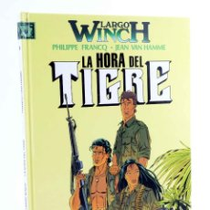 Cómics: LARGO WINCH 8. LA HORA DEL TIGRE (PHILIPPE FRANCQ / JEAN VAN HAMME) GRIJALBO, 1997. OFRT. Lote 187102433
