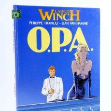 Cómics: LARGO WINCH 3. O.P.A. OPA (PHILIPPE FRANCQ / JEAN VAN HAMME) GRIJALBO, 1993. OFRT. Lote 187102441