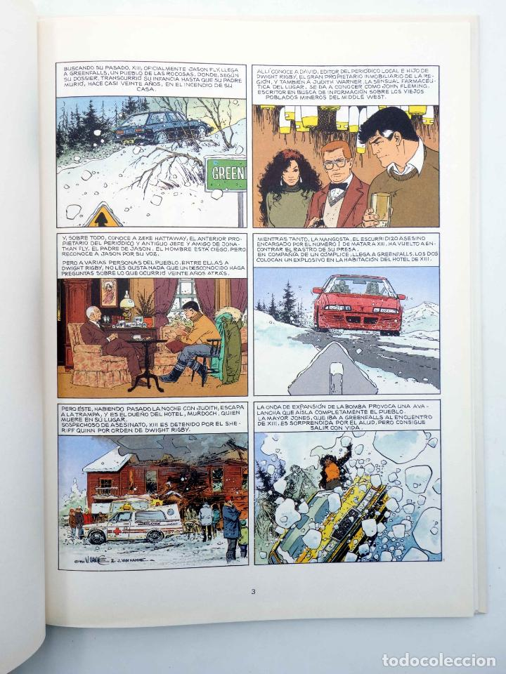 Cómics: XIII 7. LA NOCHE DEL 3 DE AGOSTO (William Vance / Jean Van Hamme) Grijalbo, 1991. OFRT antes 12E - Foto 4 - 263206300