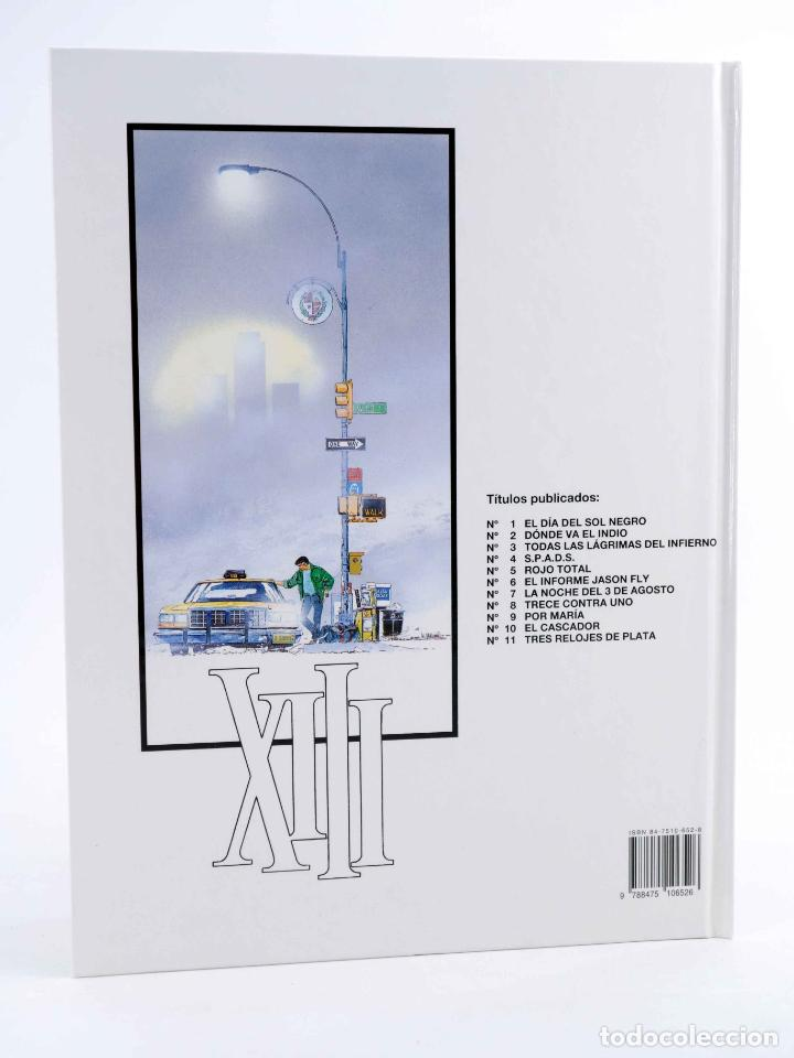 Cómics: XIII 11. TRES RELOJES DE PLATA (William Vance / Jean Van Hamme) Grijalbo, 1995. OFRT antes 12E - Foto 2 - 229829575