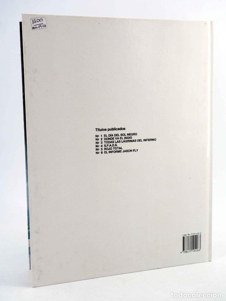 Cómics: XIII 6. EL INFORME JASON FLY (William Vance / Jean Van Hamme) Grijalbo, 1990. OFRT antes 12E - Foto 2 - 205349067
