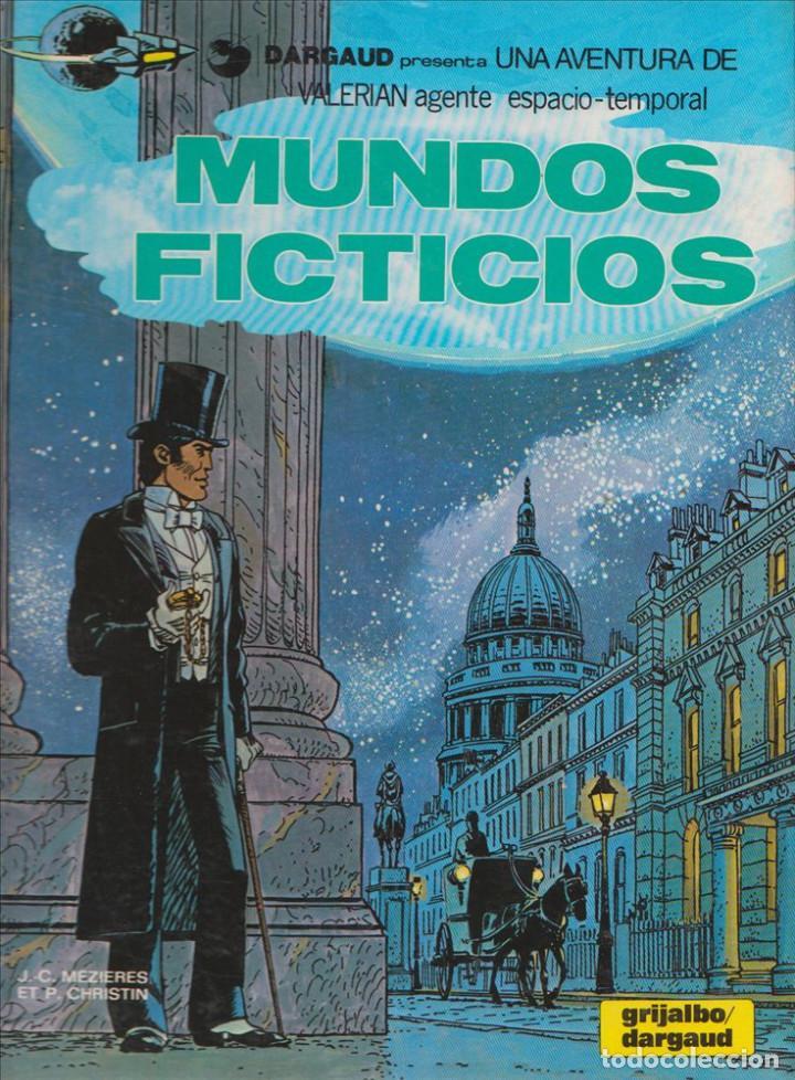 MUNDOS FICTICIOS - VALERIAN - GRIJALBO - TAPA DURA - 1981 - 49 PAGS (Tebeos y Comics - Grijalbo - Valerian)