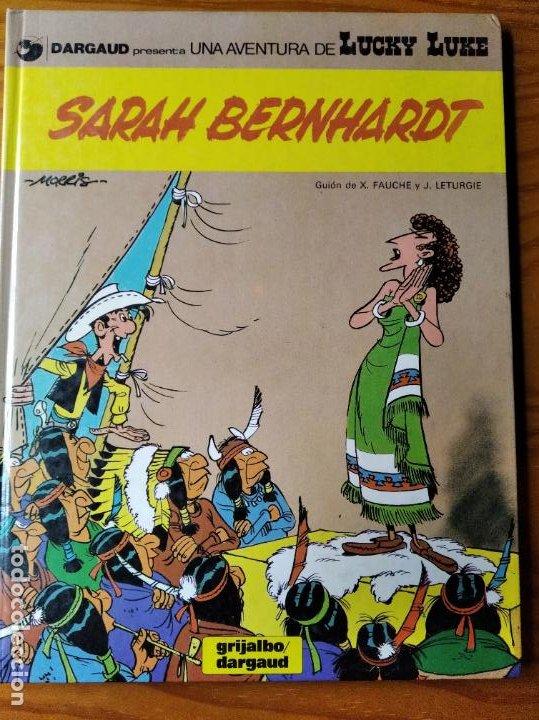 SARAH BERNHARDT, UNA AVENTURA DE LUCKY LUKE - GRIJALBO TAPA DURA 1983 - (Tebeos y Comics - Grijalbo - Lucky Luke)