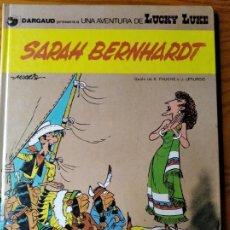 Cómics: SARAH BERNHARDT, UNA AVENTURA DE LUCKY LUKE - GRIJALBO TAPA DURA 1983 -. Lote 187187910