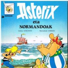 Cómics: ASTERIX ETA NORMANDOAK - 1995 - EN EUSKERA. Lote 187205305
