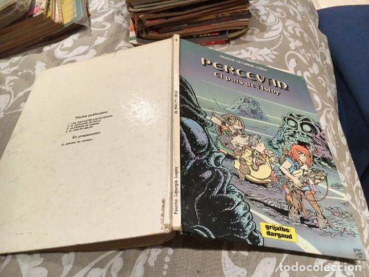 PERCEVAN. Nº 4. EL PAIS DE ASLOR. GRIJALBO. 1986 (Tebeos y Comics - Grijalbo - Percevan)