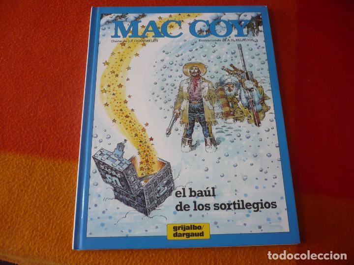 MAC COY 18 EL BAUL DE LOS SORTILEGIOS ( PALACIOS ) ¡MUY BUEN ESTADO! TAPA DURA GRIJALBO (Tebeos y Comics - Grijalbo - Mac Coy)