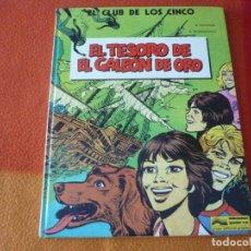 Cómics: EL CLUB DE LOS CINCO EL TESORO DEL GALEON DE ORO ¡BUEN ESTADO! TAPA DURA GRIJALBO. Lote 187475937