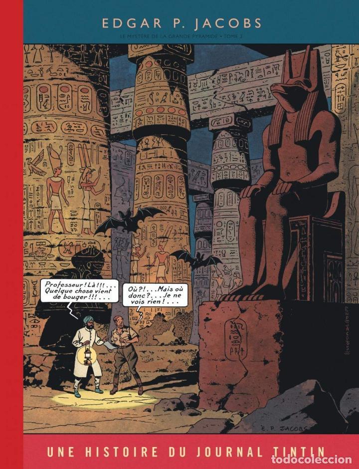 Cómics: BLAKE & MORTIMER DOS TOMOS EL MISTERIO DE LA GRAN PIRAMIDE FACSIMIL JOURNAL TINTIN - Foto 2 - 187496855
