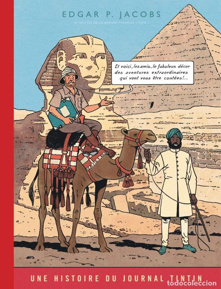 BLAKE & MORTIMER DOS TOMOS EL MISTERIO DE LA GRAN PIRAMIDE FACSIMIL JOURNAL TINTIN (Tebeos y Comics - Grijalbo - Blake y Mortimer)