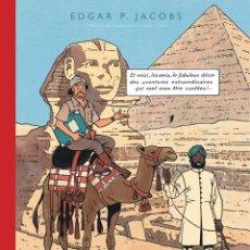 Cómics: BLAKE & MORTIMER DOS TOMOS EL MISTERIO DE LA GRAN PIRAMIDE FACSIMIL JOURNAL TINTIN. Lote 187496855