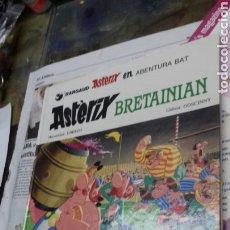 Cómics: ASTERIX BRETAINIAN. 1987. EN EUSKERA. TAPA DURA. Lote 187516555