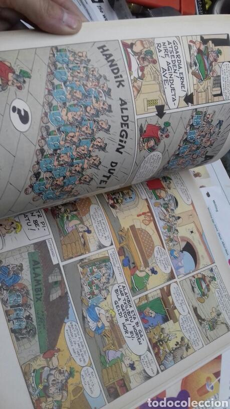 Cómics: Asterix Arbernoko ezkutua. 1987. En euskera - Foto 5 - 187516752