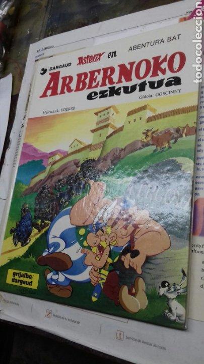 ASTERIX ARBERNOKO EZKUTUA. 1987. EN EUSKERA (Tebeos y Comics - Grijalbo - Asterix)
