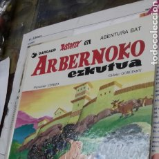 Cómics: ASTERIX ARBERNOKO EZKUTUA. 1987. EN EUSKERA. Lote 187516752