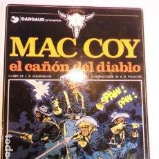 Cómics: MAC COY - NUM 9 – EL CAÑON DEL DIABLO - DARGAUD - 1991. Lote 187524715