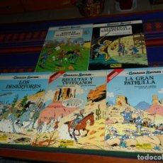 Cómics: CASACAS AZULES NºS 3 4 5 6 9. GRIJALBO JUNIOR 1984. TAPAS DURAS. MUY BUEN ESTADO. . Lote 187528035