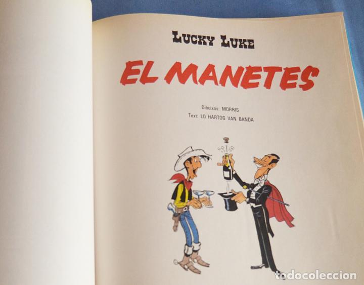 Cómics: LES AVENTURES DE LUCKY LUKE - EN CATALA - TOMO 2 CON 4 COMICS - GRIJALBO - Foto 4 - 187608321