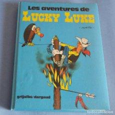 Cómics: LES AVENTURES DE LUCKY LUKE - EN CATALA - TOMO 2 CON 4 COMICS - GRIJALBO. Lote 187608321