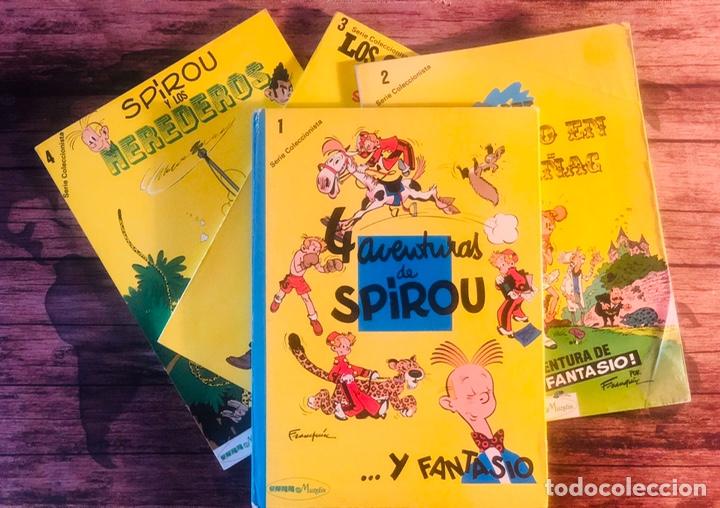 COLECCION COMPLETA SPIROU Y FANTASIO, SERIE COLECCIONISTA, POR FRANQUIN, (EDITORA MUNDIS) (Tebeos y Comics - Grijalbo - Spirou)