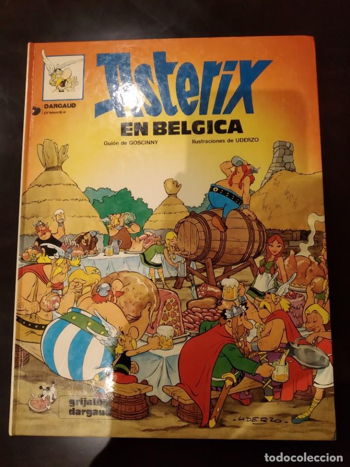 ASTÉRIX EN BÉLGICA Nº 24 -GOSCINNY GRIJALBO DARGAUD- 1981, TAPA DURA (Tebeos y Comics - Grijalbo - Asterix)