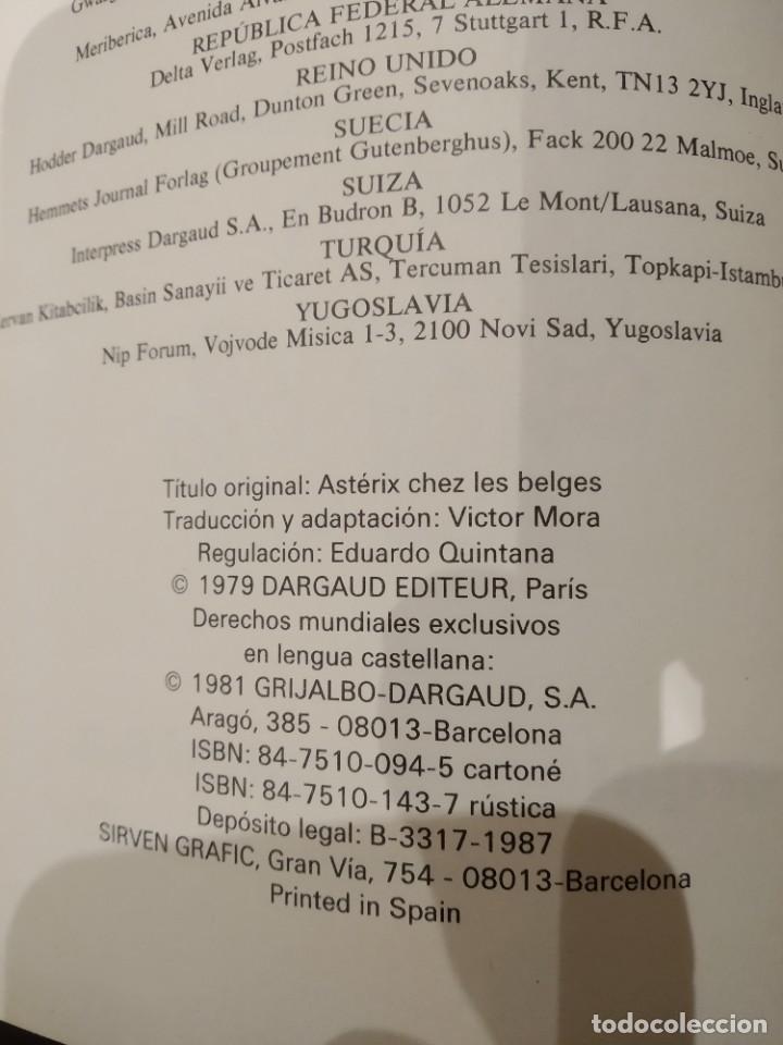 Cómics: ASTÉRIX EN BÉLGICA Nº 24 -GOSCINNY GRIJALBO DARGAUD- 1981, TAPA DURA - Foto 2 - 187824281