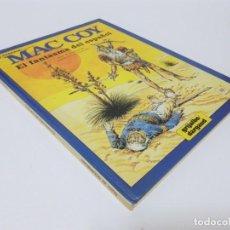 Cómics: DARGAUD PRESENTA MAC COY EL FANTASMA DEL ESPAÑOL GOURMELEN Y PALACIOS # 16 GRIJALBO. Lote 188451935