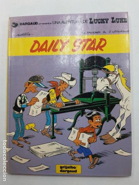 LUCKY LUKE DAILY STAR 1ª EDICIÓN EN CATALÁN 1986 SIN NUMERACIÓN (Tebeos y Comics - Grijalbo - Otros)