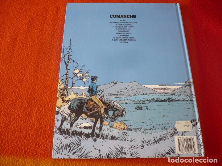 Cómics: COMANCHE 11 LAS FIERAS ( ROUGE GREG ) ¡MUY BUEN ESTADO! TAPA DURA GRIJALBO DARGAUD - Foto 2 - 188570927