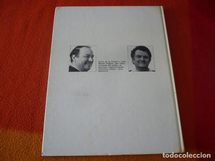 Cómics: LOS GRINGOS VIVA LA REVOLUCION ( CHARLIER DE LA FUENTE ) ¡BUEN ESTADO! TAPA DURA GRIJALBO - Foto 2 - 188683467