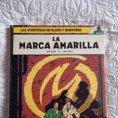Cómics: LAS AVENTURAS DE BLAKE Y MORTIMER - LA MARCA AMARILLA N. 3. Lote 188741297