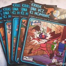 Cómics: ERASE UNA VEZ...EL HOMBRE, N° 2, 3,4,6,7, 1978. JUNIOR GRIJALBO. Lote 188789498