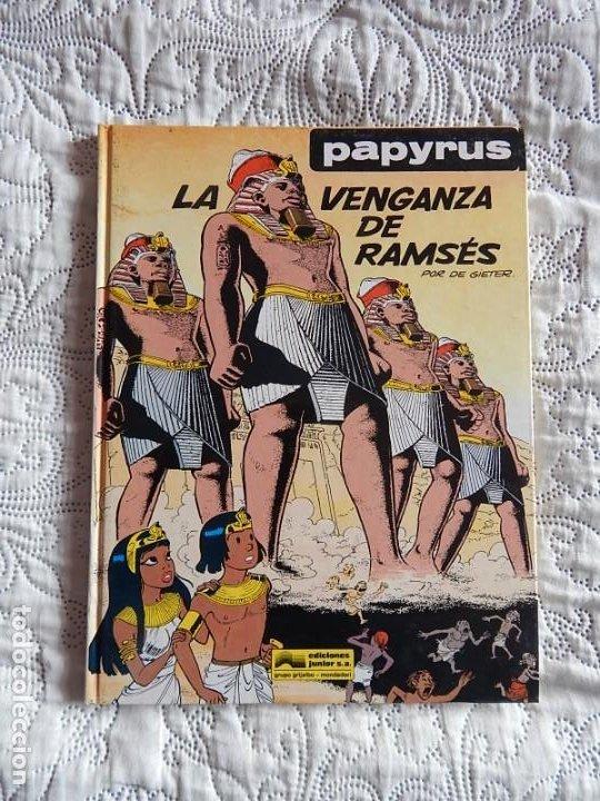 PAPYRUS - LA VENGANZA DE RAMSES - N. 7 (Tebeos y Comics - Grijalbo - Papyrus)
