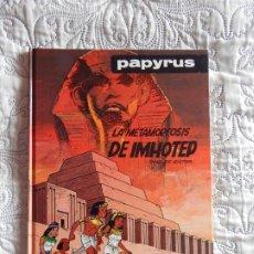 Cómics: PAPYRUS - LA METAMORFOSIS DE IMHOTEP - N. 8. Lote 188808102