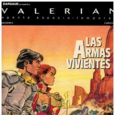 Cómics: LAS ARMAS VIVIENTES. VALERIAN 14. NUEVO DE ALMACÉN.. Lote 188833955
