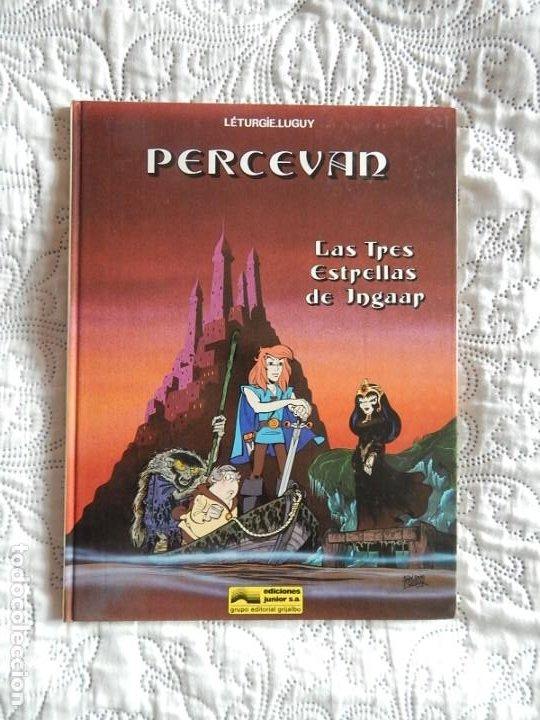 PERCEVAN - LAS TRES ESTRELLAS DE INGAAR - N. 1 (Tebeos y Comics - Grijalbo - Percevan)