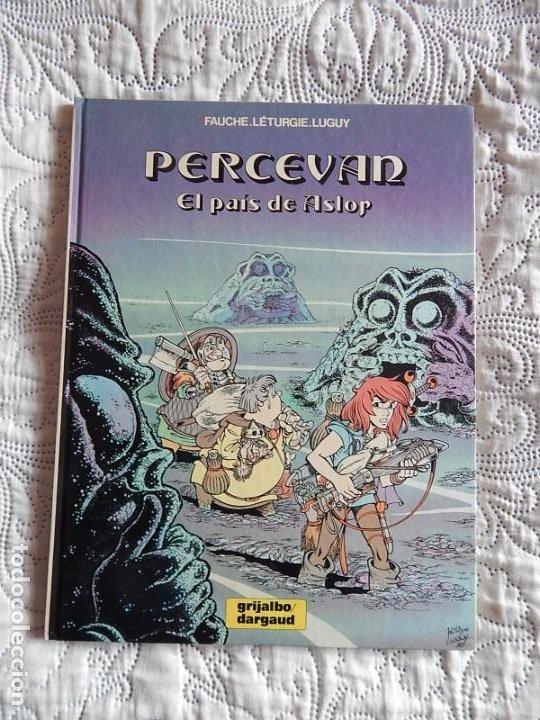 PERCEVAN- EL PAIS DE ASLOR N. 4 (Tebeos y Comics - Grijalbo - Percevan)
