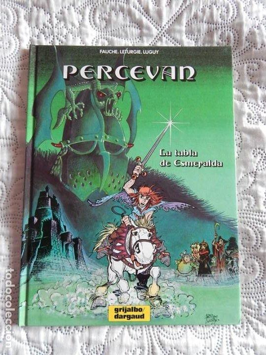 PERCEVAN- LA TABLA DE ESMERALDA N. 8 (Tebeos y Comics - Grijalbo - Percevan)