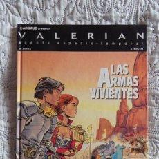 Cómics: VALERIAN AGENTE ESPACIO - TEMPORAL N. 14 - LAS ARMAS VIVIENTES. Lote 189075936