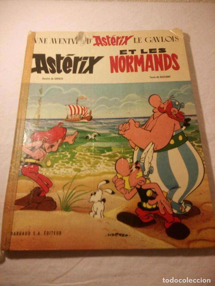 ASTERIX ET LES NORMANDS 1966 TEXTE DE GOSCINNY, FRANCES (Tebeos y Comics - Grijalbo - Asterix)