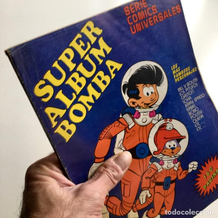 REVISTA DE CÓMICS SUPER ALBUM BOMBA RECOPILATORIO DE SPIROU ARDILLA, Nº 1, AÑO 1979 (Tebeos y Comics - Grijalbo - Spirou)