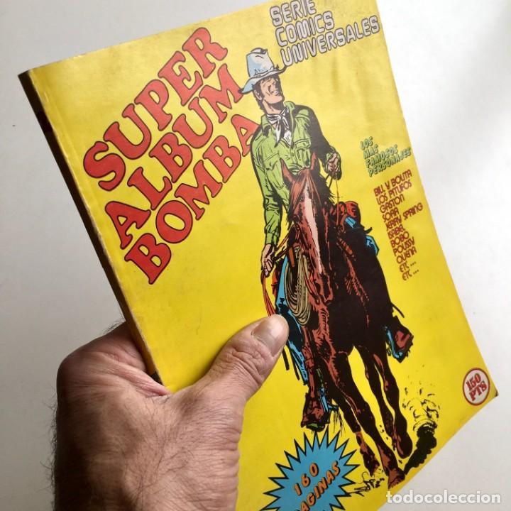 REVISTA DE CÓMICS SUPER ALBUM BOMBA RECOPILATORIO DE SPIROU ARDILLA, Nº 2, AÑO 1979 (Tebeos y Comics - Grijalbo - Spirou)