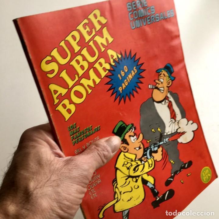 REVISTA DE CÓMICS SUPER ALBUM BOMBA RECOPILATORIO DE SPIROU ARDILLA, Nº 5, AÑO 1979 (Tebeos y Comics - Grijalbo - Spirou)