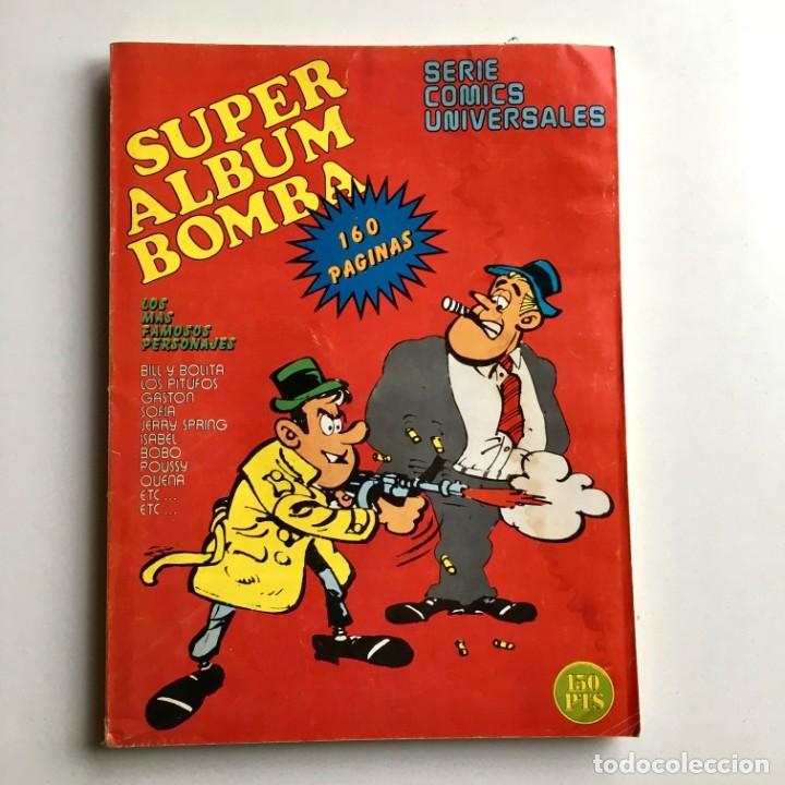 Cómics: Revista de cómics SUPER ALBUM BOMBA recopilatorio de SPIROU ARDILLA, nº 5, año 1979 - Foto 2 - 189382923