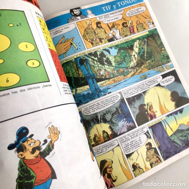 Cómics: Revista de cómics SUPER ALBUM BOMBA recopilatorio de SPIROU ARDILLA, nº 5, año 1979 - Foto 9 - 189382923