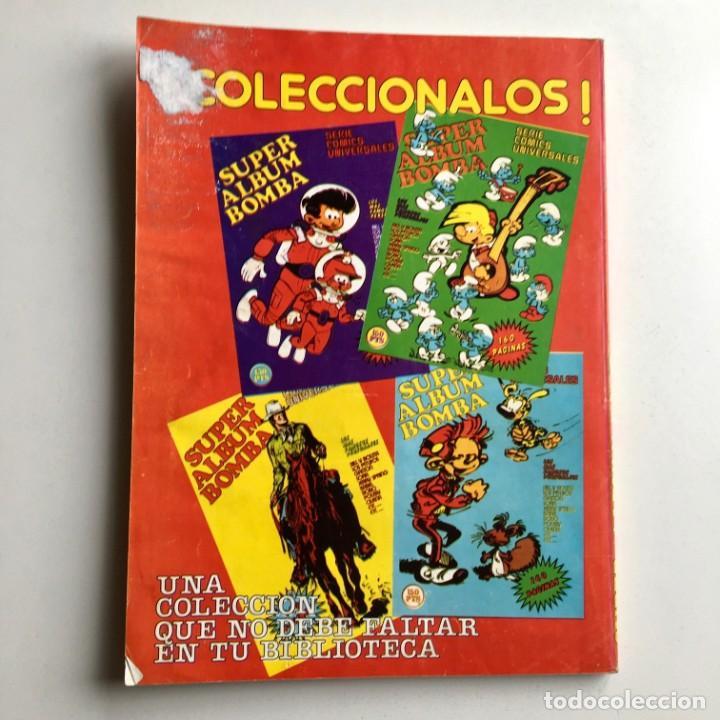 Cómics: Revista de cómics SUPER ALBUM BOMBA recopilatorio de SPIROU ARDILLA, nº 5, año 1979 - Foto 11 - 189382923